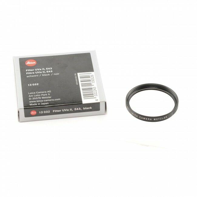 Leica E43 UVA II Filter + Box