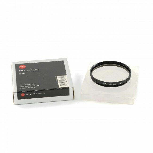 Leica E60 UVA Filter + Box