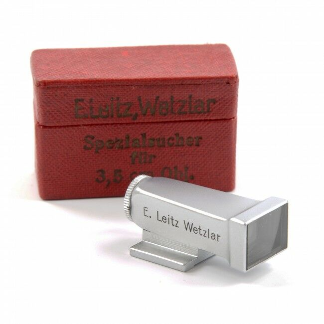 Leica Early WEISU Finder 3,5cm + Box