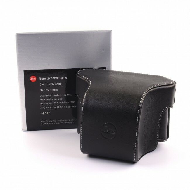 Leica Ever Ready Case With Small Front For Leica M + Box
