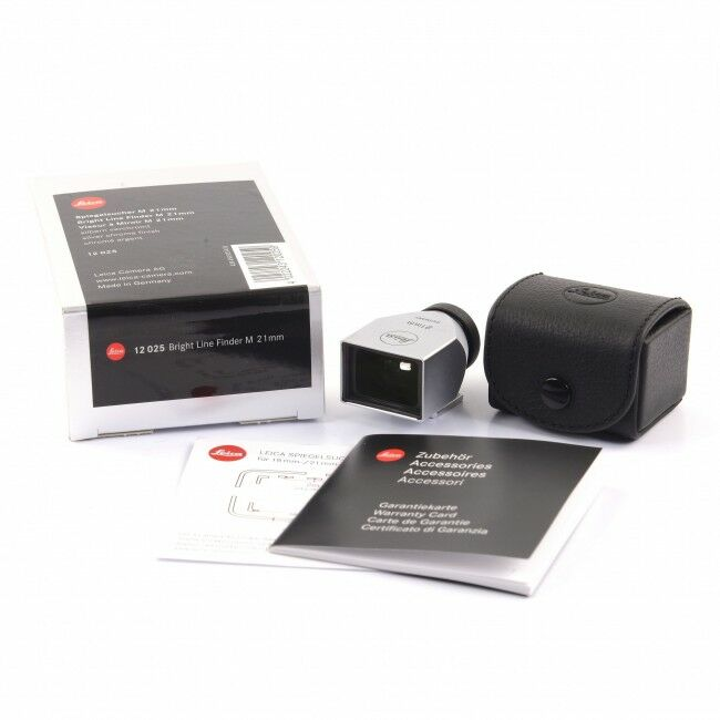 Leica 21mm Finder Silver + Box