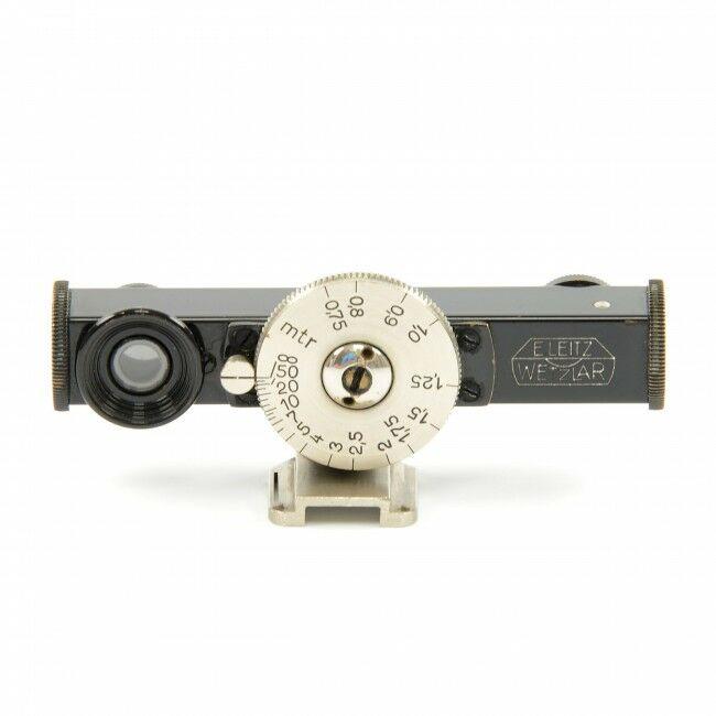Leica FOKOS Black / Nickel + Turret Clip