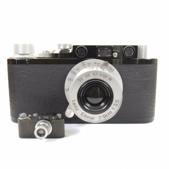 Giant Leica II Display Camera