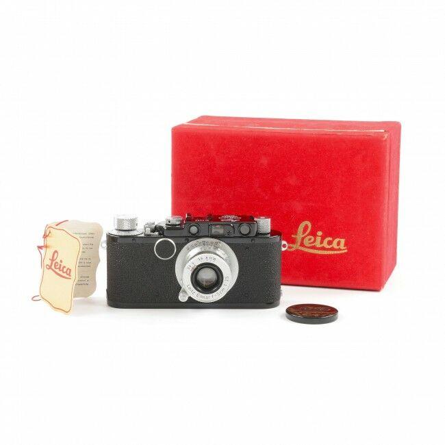 Leica I Conversion To II 4 Digit Set + Box