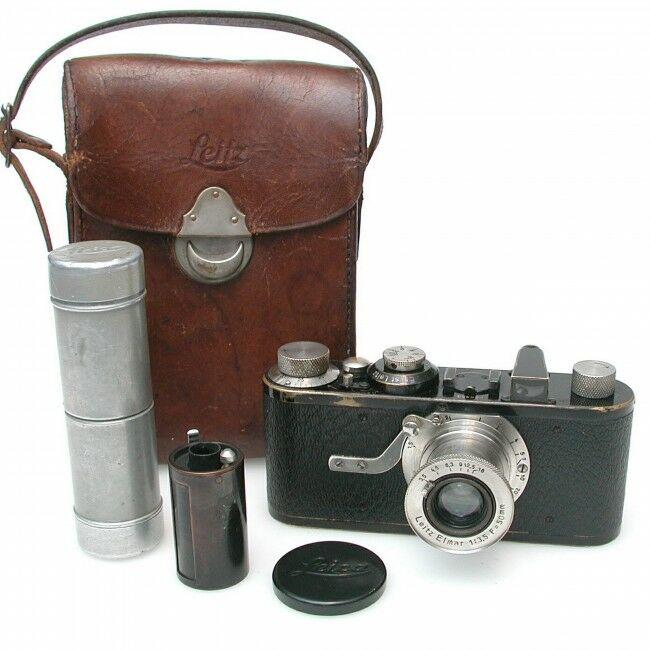 Leica IA Elmar 3rd Version 4 Digit + Case Rare