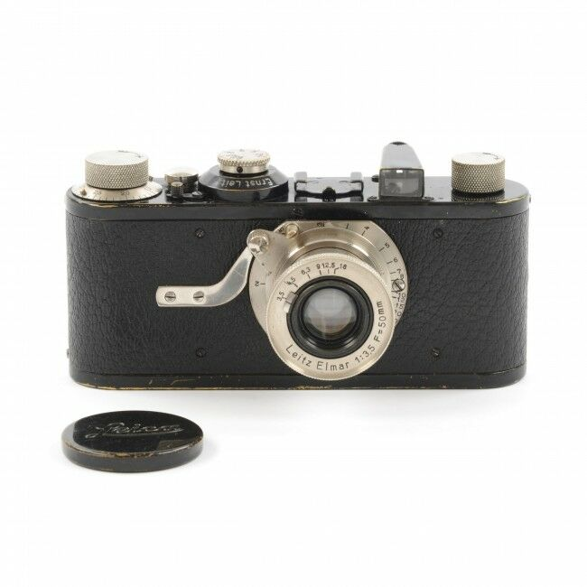 Leica I Elmar Type 10 Close Focus Export Version With Feathered Arrows