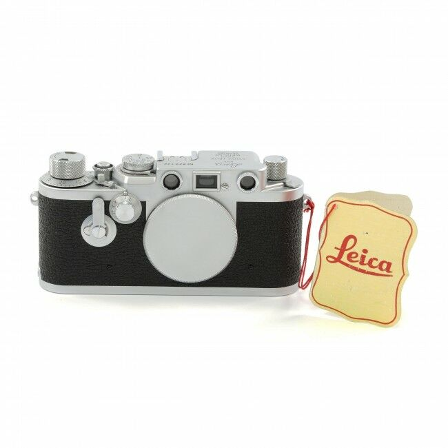 Leica IIIF Red Dial Self Timer + Sales Tag