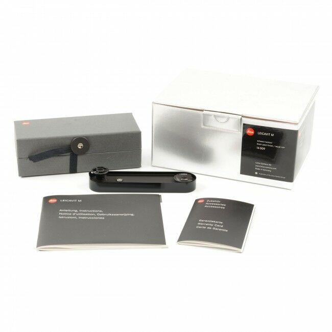 Leica Leicavit-M Black Paint + Box