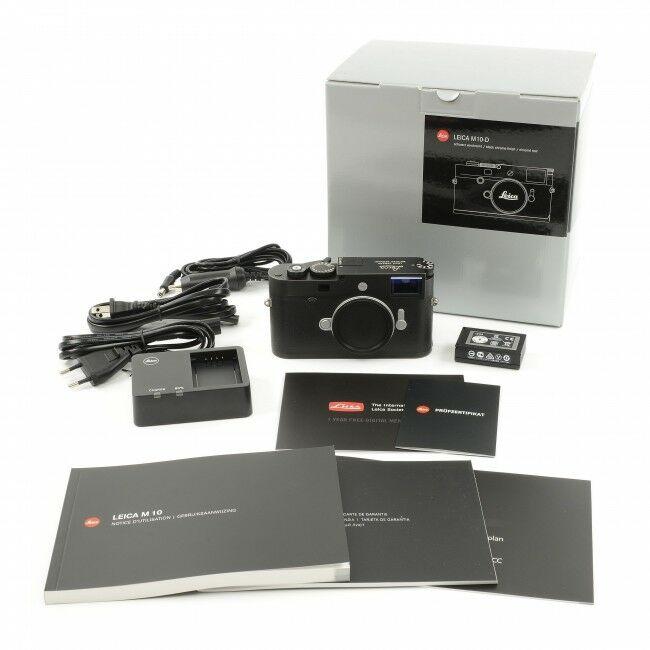 Leica M10-D Black + Box