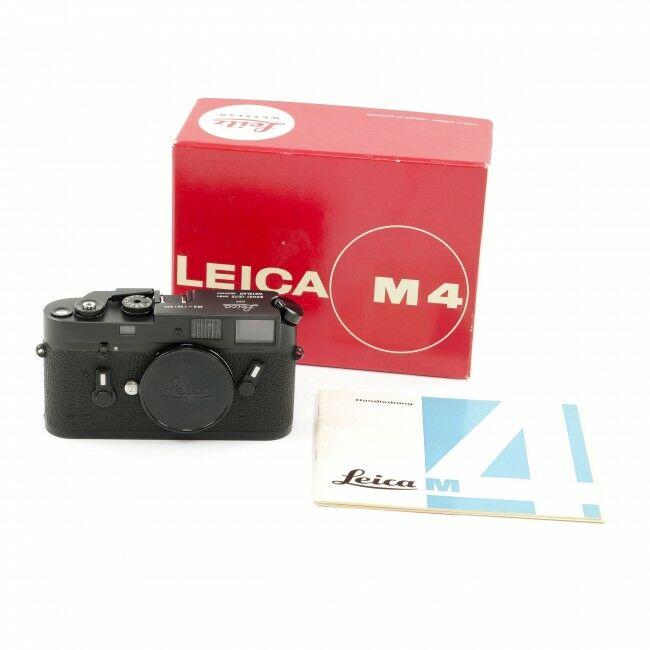Leica M4 Black Chrome + Box Rare