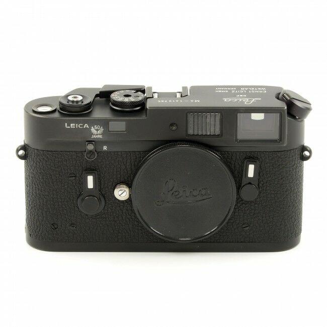 Leica M4 Black Chrome 50 Years Wetzlar Engraving