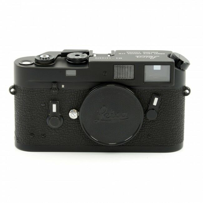 Leica M4 Black Chrome Canada Engraving