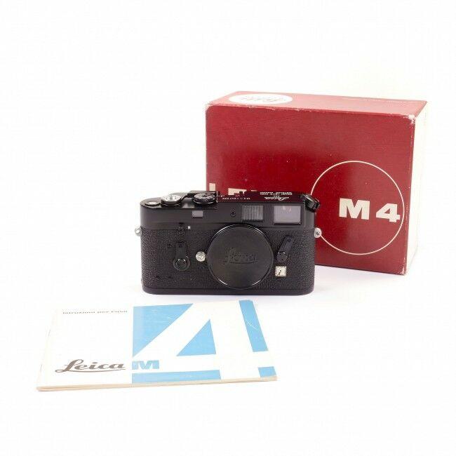 Leica M4 Black Paint + Box