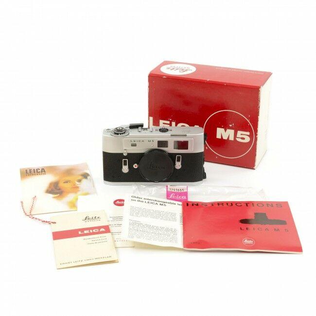 Leica M5 Silver + Box