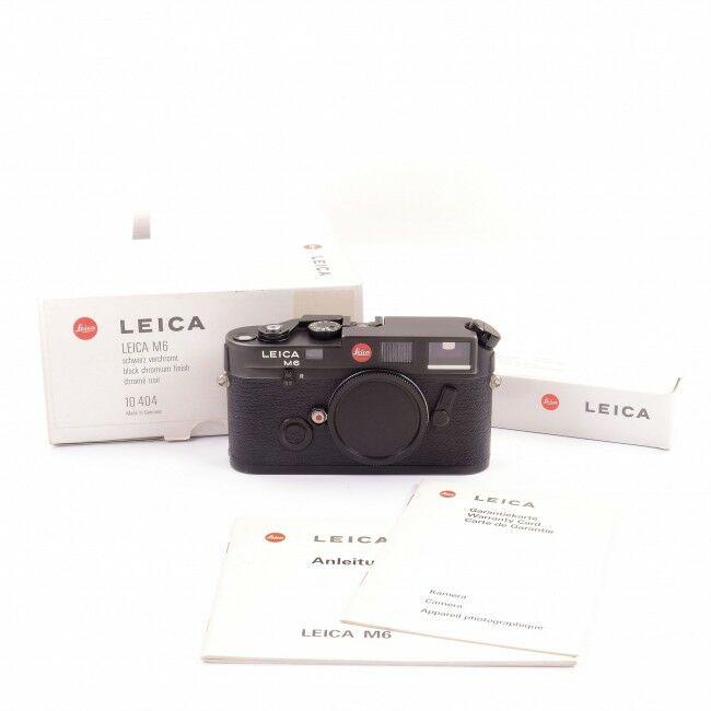 Leica M6 Non TTL Black + Box