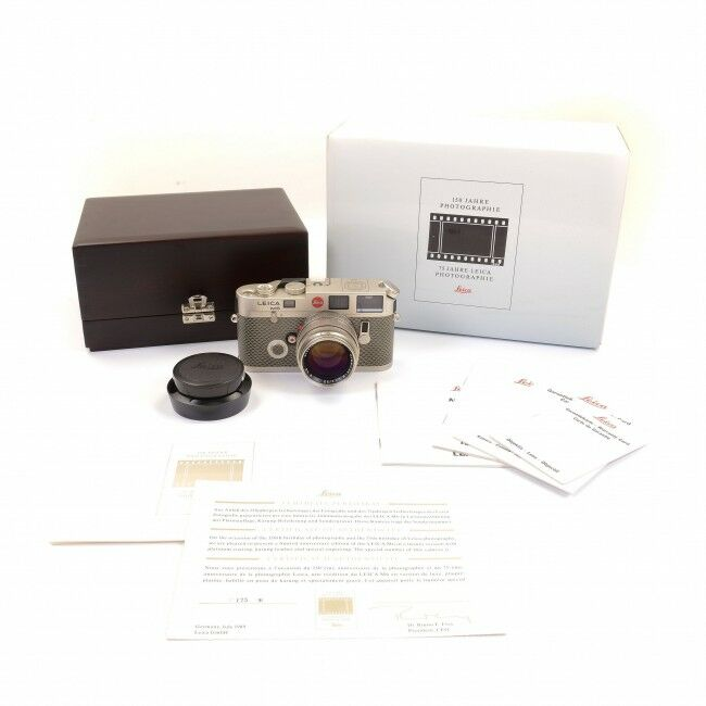 Leica M6 Platinum 150 Years Photography 75 Years Leica Photography + Box See Limited Number!