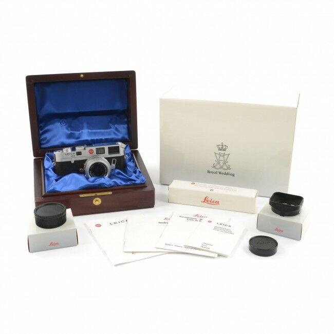Leica M6 Royal Wedding Set No. 200/200 + Box