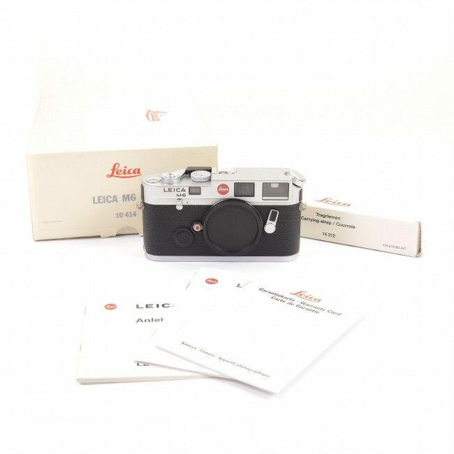 Leica M6 Non TTL Silver + Box