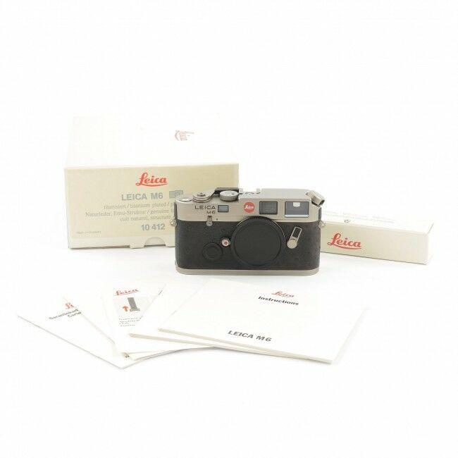 Leica M6 Non TTL Titanium + Box