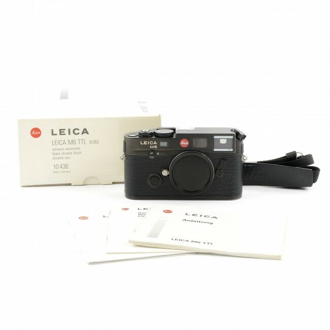 Leica M6 TTL 0.85 Black + Box