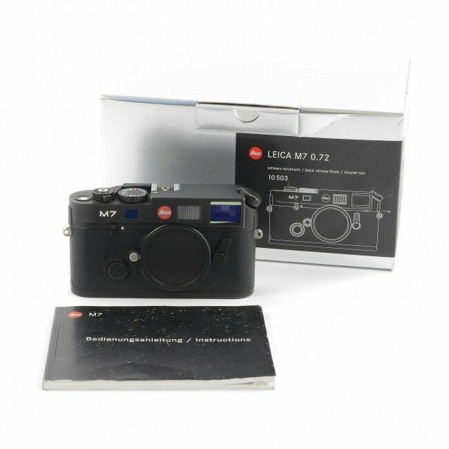Leica M7 Black 0.72 + Box
