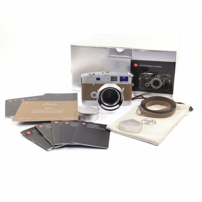 Leica M7 Edition Hermès Veau Swift Etoupe Set