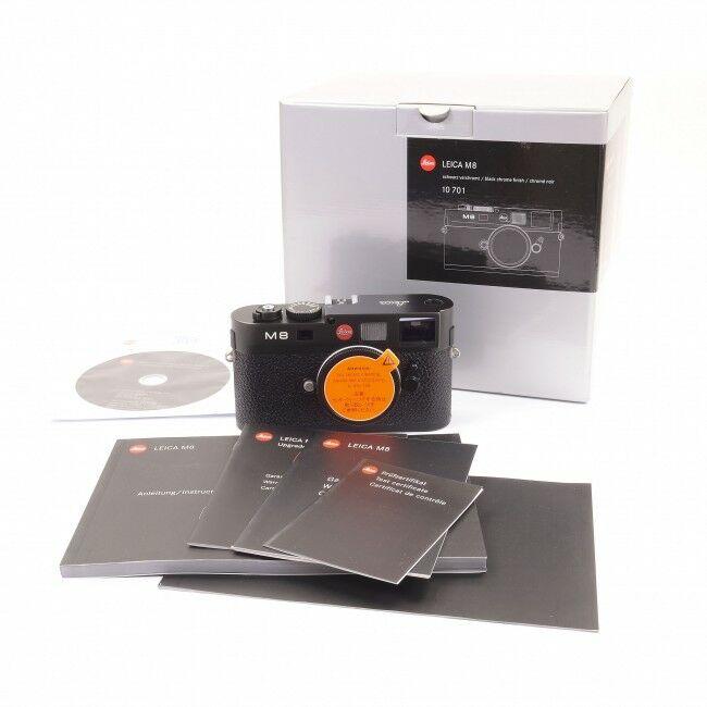 Leica M8 Black Upgrade + Box