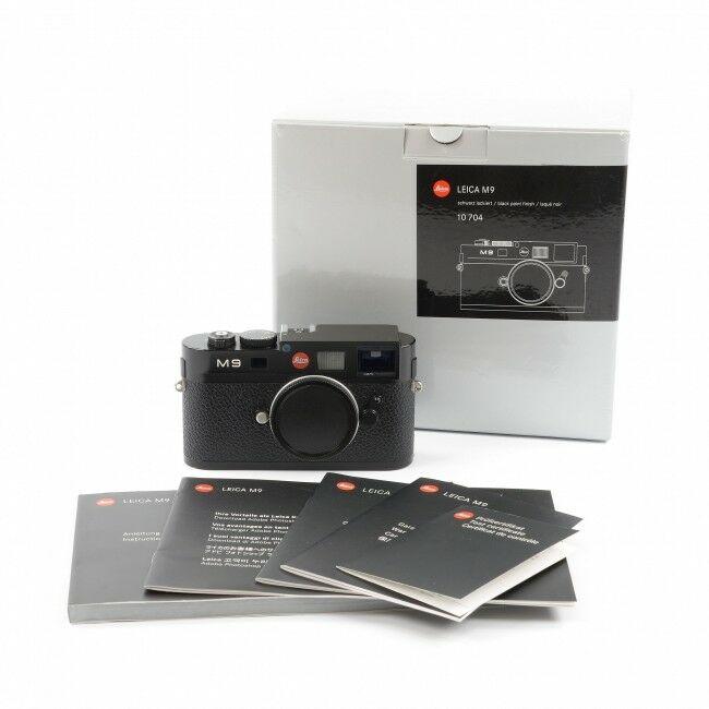 Leica M9 Black Paint + Box