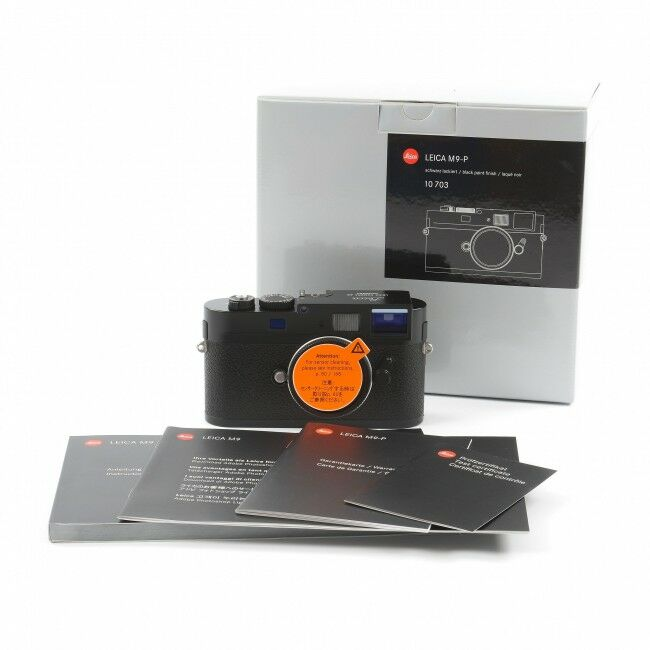 Leica M9-P Black Paint Replaced Sensor + Box