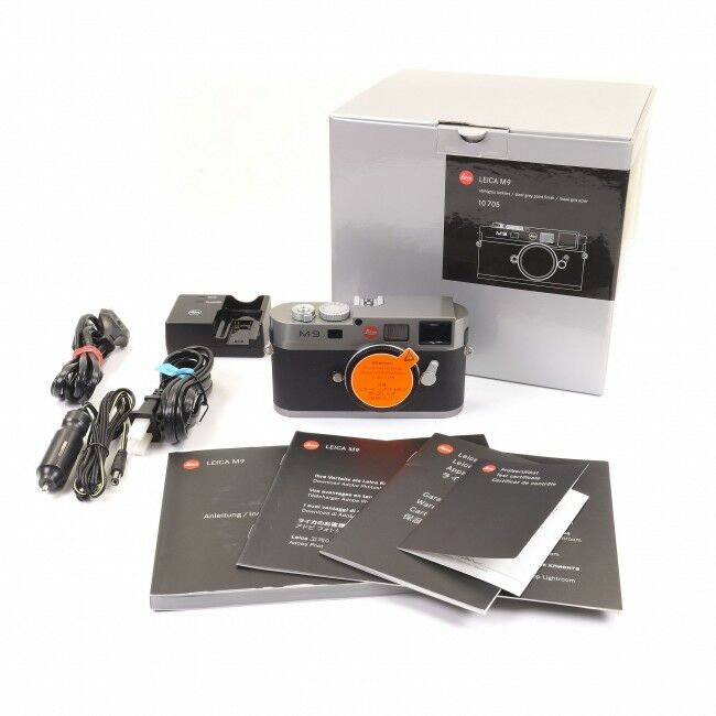Leica M9 Steel Grey Paint New Sensor + Box