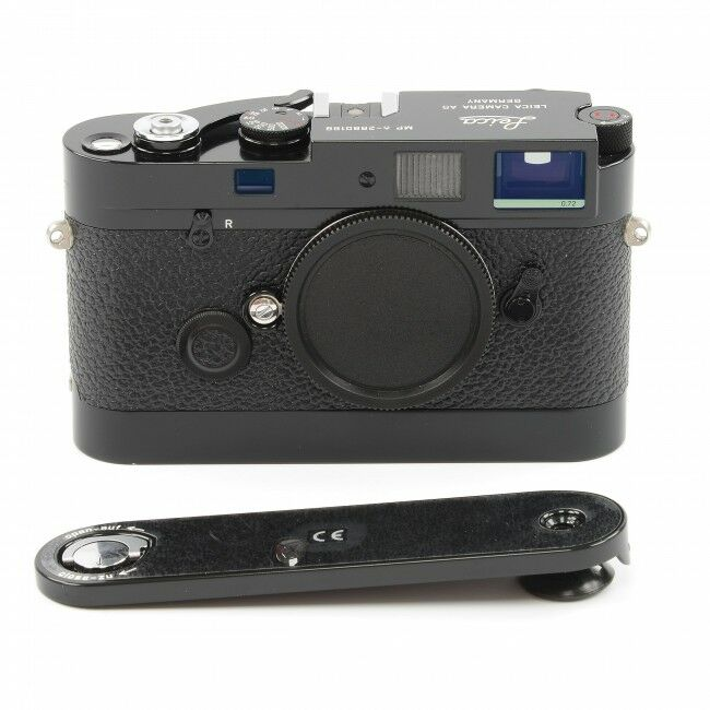 Leica MP-6 Black Paint Lucky Number + Leicavit Black Paint