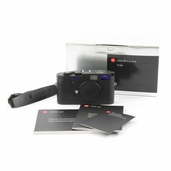 Leica MP Black Chrome à La Carte 0.72 + Box