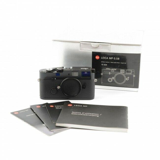 Leica MP 0.58 Black Paint + Box