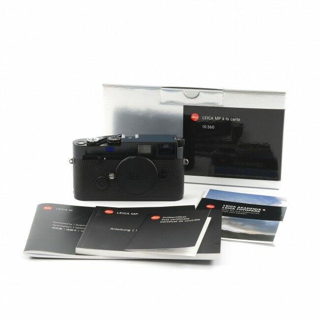 Leica MP Black Paint à La Carte 0.72 + Box