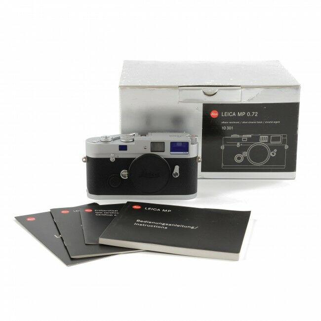 Leica MP 0.72 Silver + Box