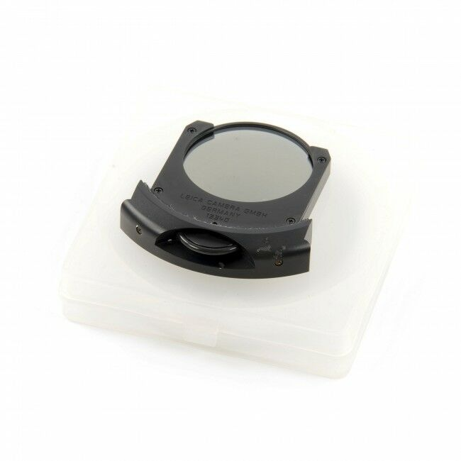 Leica Drop-In Series 6 Circular Polarizer Glass Filter Holder For 180mm f2 / 280/400mm Module Lens Set