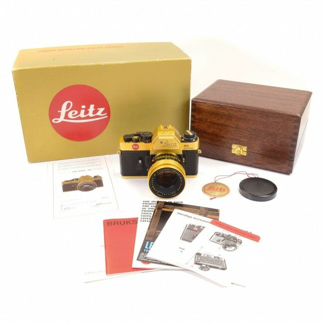 Leica R3 Gold Oscar Barnack Edition + Box