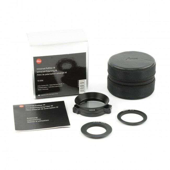 Leica Universal-Polarizing Glass Filter For Leica M + Box
