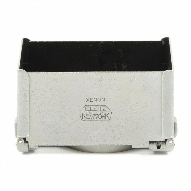 Leica XIOOM Xenon New York Collapsible Silver Lens Hood Rare