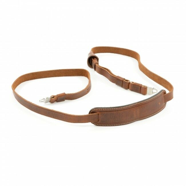 Luigicase Natural Aged Brown Hasselblad Camera Strap