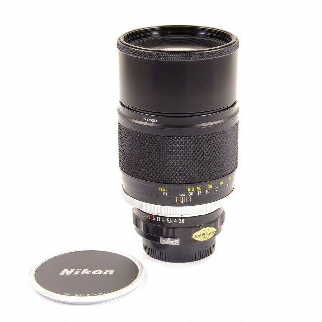 Nikon Nikkor-P Auto 180mm f2.8 Non AI
