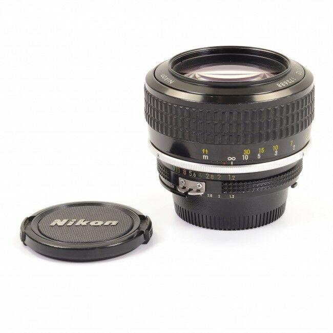 Nikon 58mm f1.2 AI Noct-Nikkor Lens