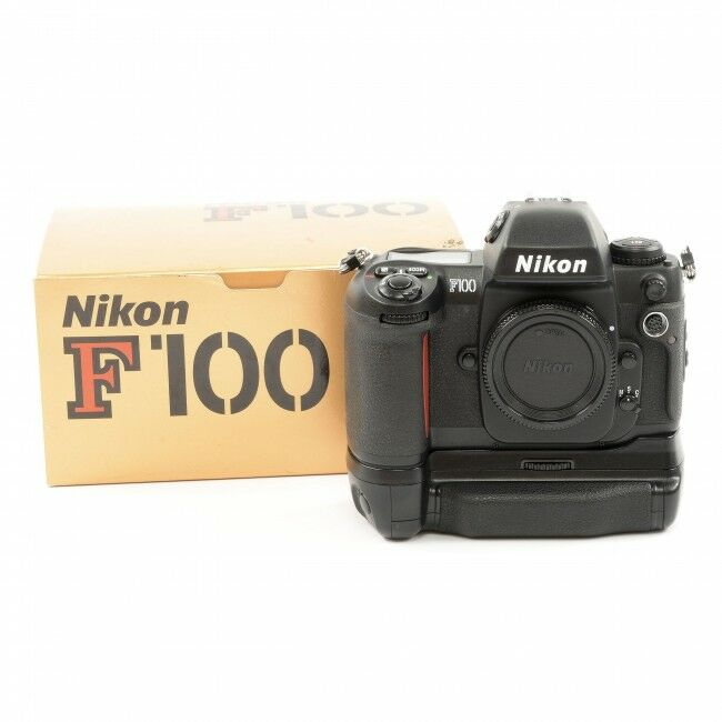 Nikon F100 + MB-15 Grip + Box