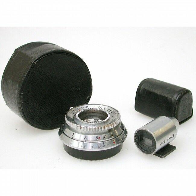 Old Delft For Leica 35mm f3.5 Minor Rangefinder Coupled + Finder