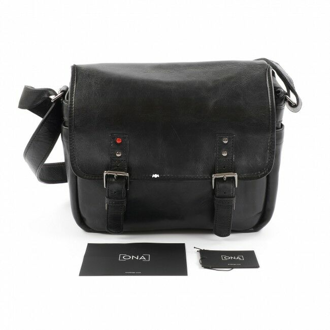 ONA - The Berlin II For Leica - Camera Messenger Bag - Black Leather