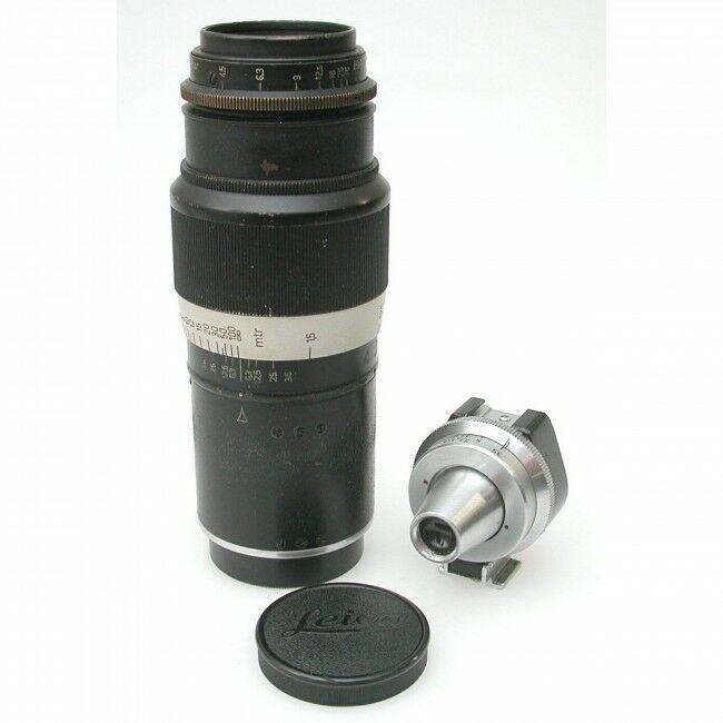 Leica 135mm f4.5 Hektor + VIOOH Finder