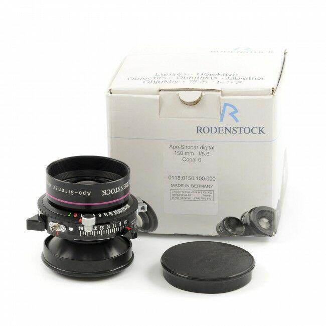 Rodenstock 150mm f5.6 APO-Sironar Digital Copal 0 + Box