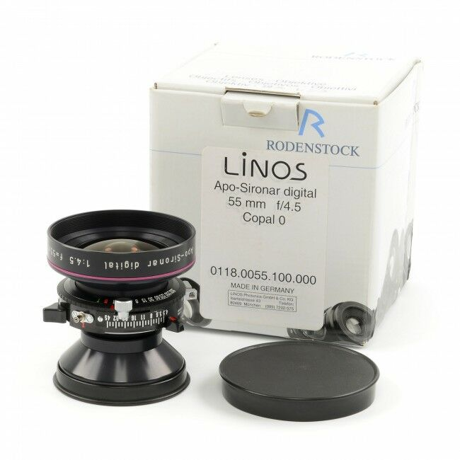 Rodenstock 55mm f4.5 APO-Sironar Digital Copal 0 + Box