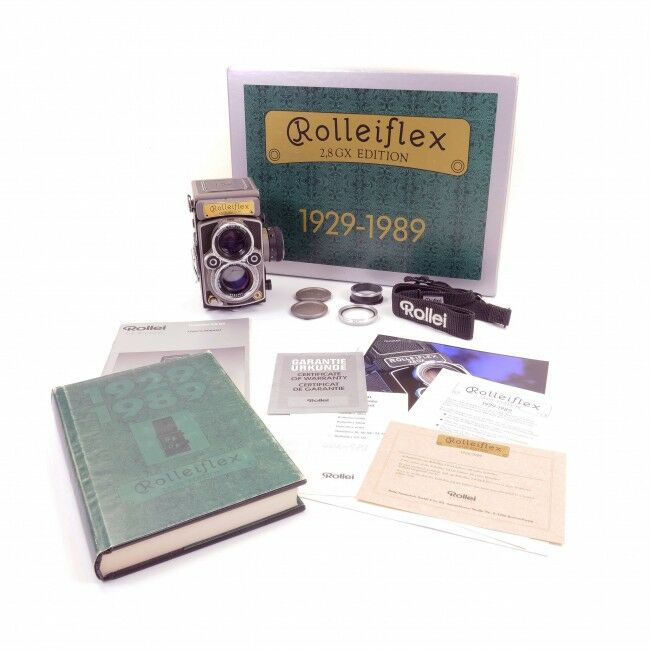 Rolleiflex 2.8GX 60 Years 1929-1989 + Box