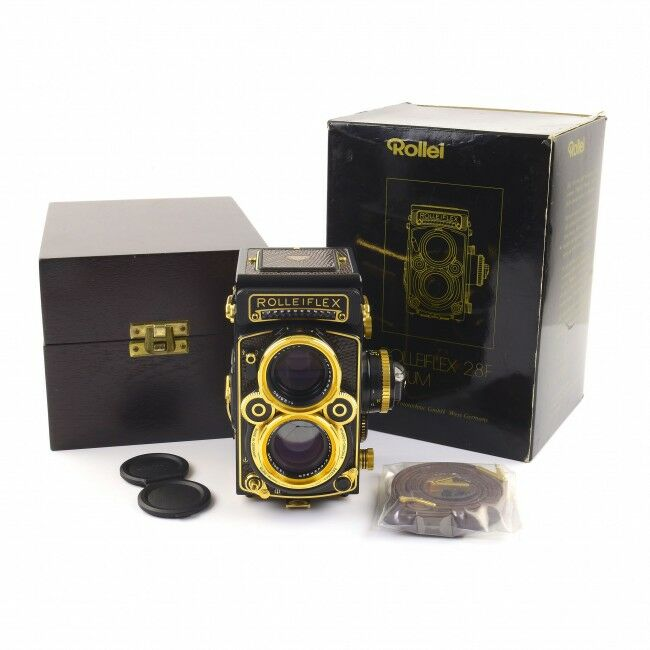 Rolleiflex 2.8F Aurum + Box